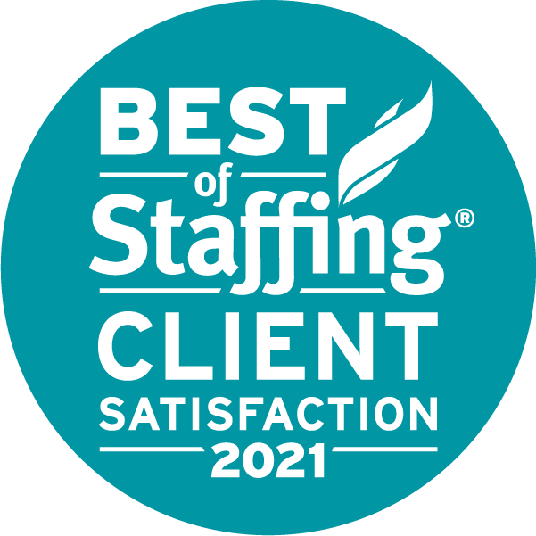Best of staffing 2021 client